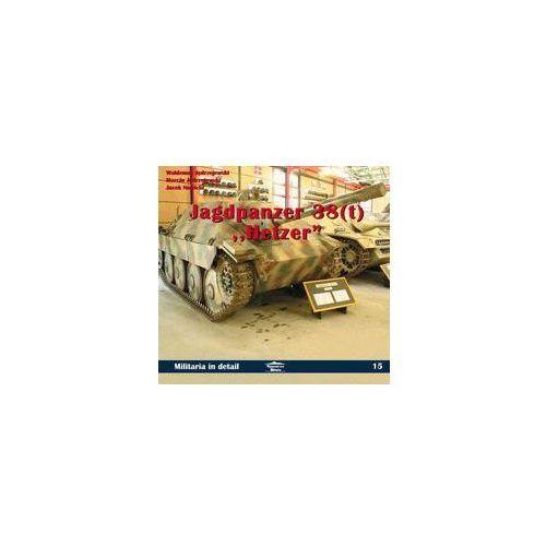 Jagdpanzer 38 (t) Hetzer in detail MILITARIA IN DETAIL 15, rok wydania (2006)