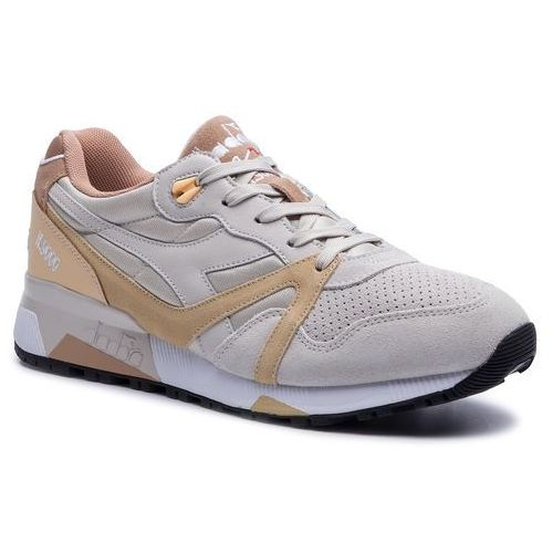 Sneakersy - n9000 double l 501.170483 01 c6596 moonbeam/impala, Diadora, 36.5-46