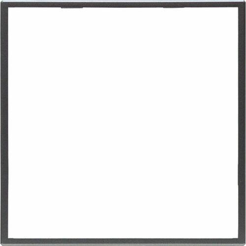 KOS DANTE Zewnętrzna ramka dekoracyjna pojedyncza GRAFIT 4560200 (5906881419250)