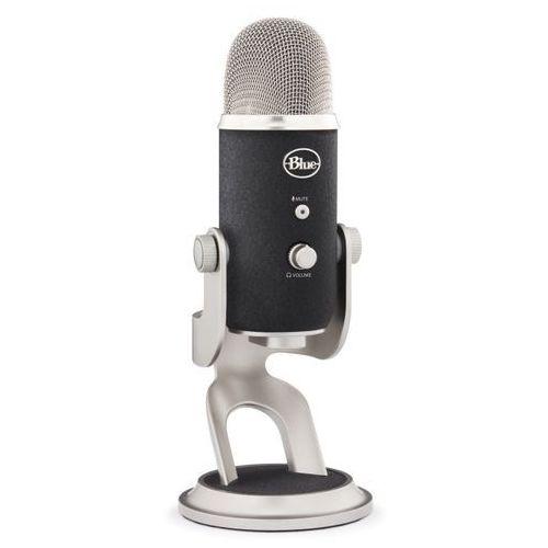 yeti pro mikrofon pojemnościowy usb, wyjście słuchawkowe od producenta Blue microphones