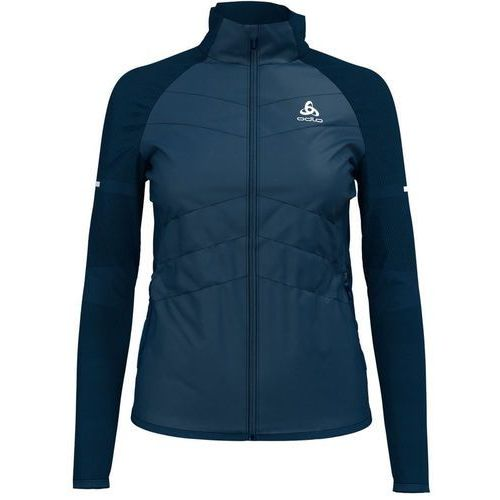 Odlo irbis x-warm kurtka do biegania kobiety niebieski xl 2018 kurtki do biegania