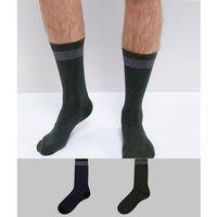Selected Homme Socks In 2 Pack - Multi