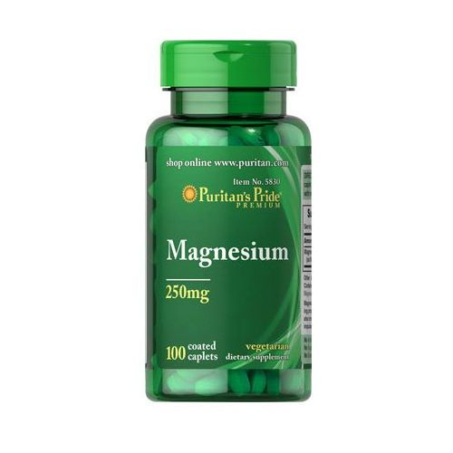 Magnez 250mg magnesium 100 kapsułek  od producenta Puritan's pride