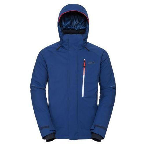 Kurtka exolight icy jacket men - royal blue, Jack wolfskin