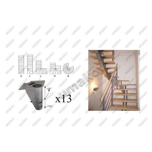 Schody-segment ns240 v 2640-2400mm, set 13x segmen marki Umakov