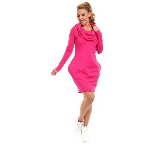 Kiara fuksja sukienka marki Lemoniade