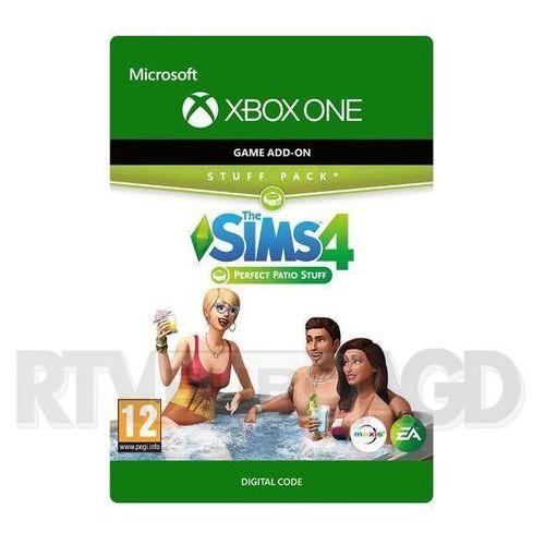 The sims 4 - perfekcyjne patio dlc [kod aktywacyjny] xbox one marki Microsoft