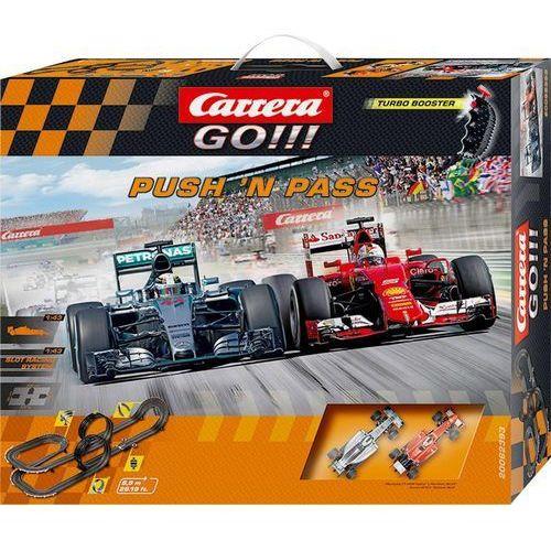 Carrera Tor wyścigowy  go!!! push'n pass 20062393, zetaw startowy