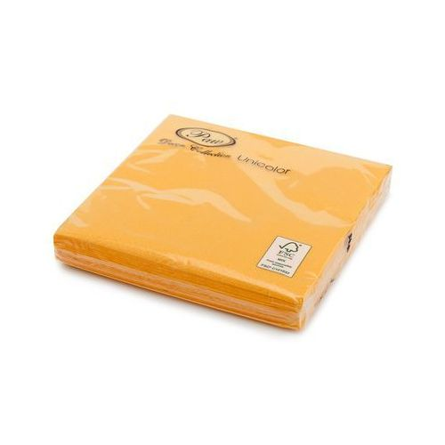 Florentyna Serwetka drukowana praktyczna 33x33 mix 20szt unicolor lunch grapefriut yellow -paw
