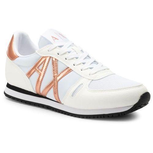 Armani exchange Sneakersy - xdx031 xv137 n862 white/rose gold