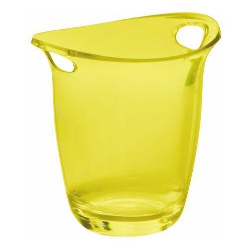 Cooler do wina i szampana Bugatti Glamour transparentny żółty