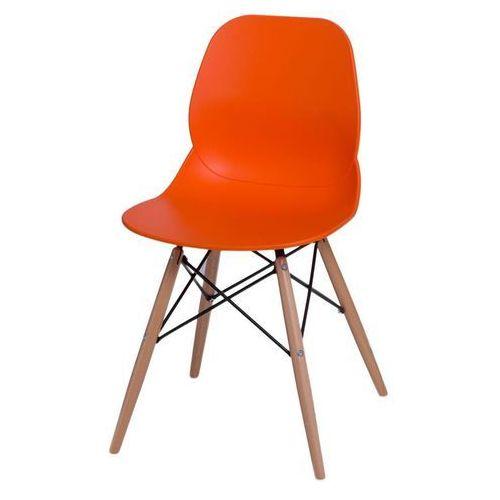 D2.design Krzesło layer dsw - pomarańczowy (5902385707145)