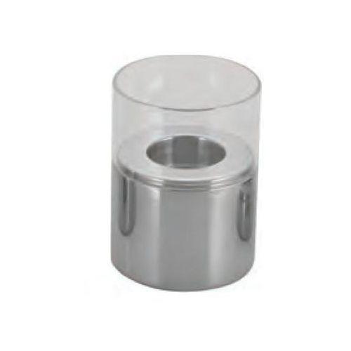 Świecznik stalowo-szklany marki Tom-gast
