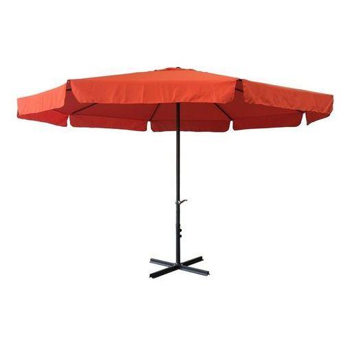 Rojaplast parasol ogrodowy z rączką 300cm terracotta (8595226707267)