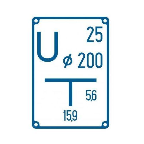 Tablica orientacyjna przyłączenia uziomu, marki Top design