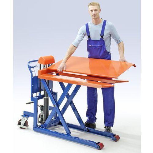 Seco Wózek niskiego podnoszenia z widłami, platforma, nośność 1000 kg, zakres podnosz