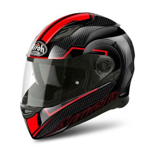 KASK AIROH MOVEMENT S FASTER RED GLOSS