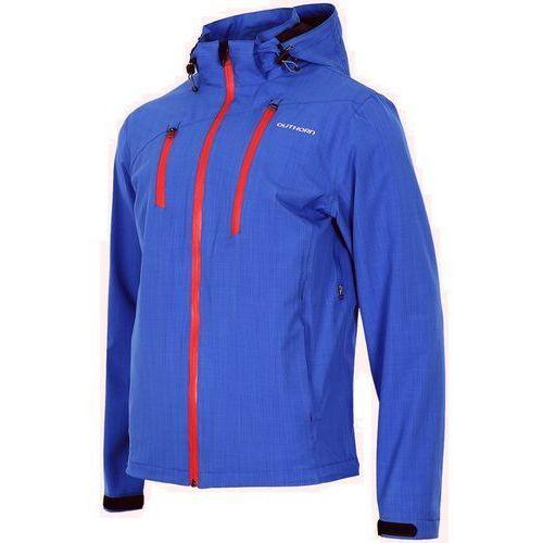 Outhorn Męska kurtka przeciwdeszczowa 8000 h2o kumt603 niebieska xl
