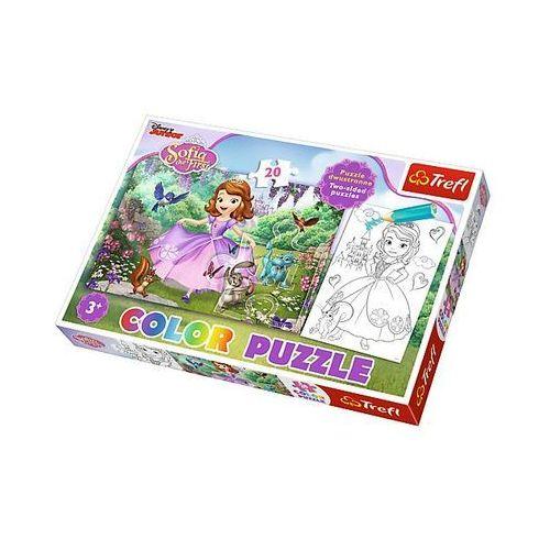 Trefl Puzzle color 20 elementów. sofia wśród drzew (5900511365153)