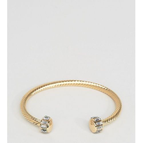 DesignB bangle cuff bracelet in gold exclusive to asos - Gold