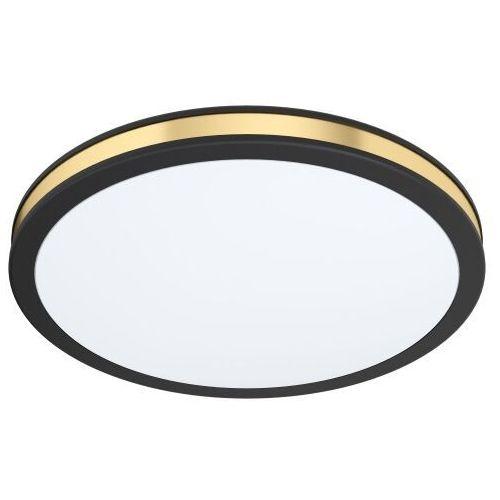 Eglo pescaito 99406 plafon lampa ścienna/sufitowa 1x11w led czarny złoty (9002759994068)