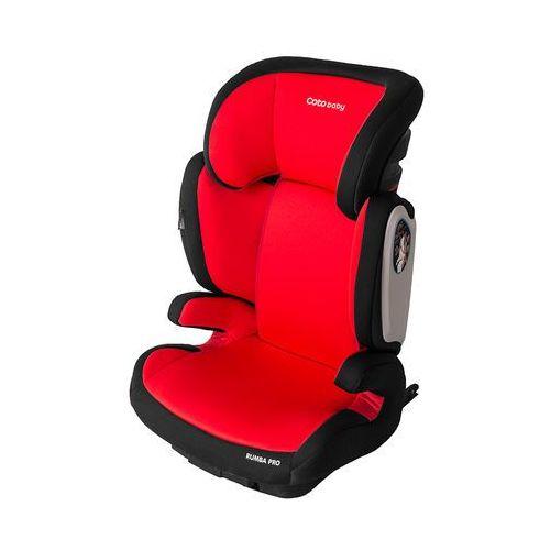Coto Baby, Rumba Pro, fotelik samochodowy, 15-36 kg, Red