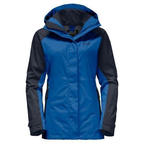 Jack wolfskin Kurtka north slope flex women - azure blue