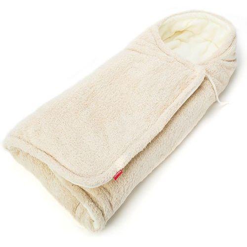 BeeMy Śpiworek/otulacz do wózka, Light brown/Ivory (8595649810056)