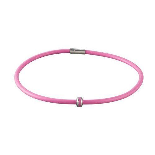 Insportline Naszyjnik magnetyczny mely, 45 cm, różowy (8596084039460)