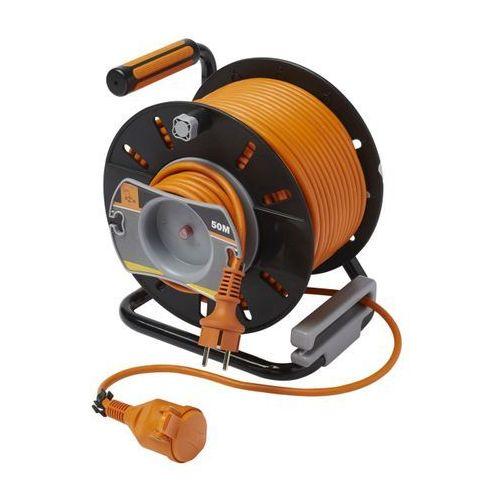 Przedłużacz bębnowy 3 x 1,5 mm2 47 m + 3 m marki Diall