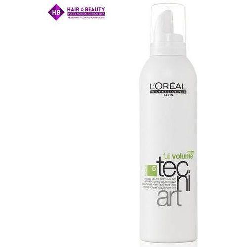 L´Oreal Paris Tecni Art Full Volume Extra Foam 250ml W Pianka do włosów zwiększająca objętość, 3016. Najniższe ceny, najlepsze promocje w sklepach, opinie.