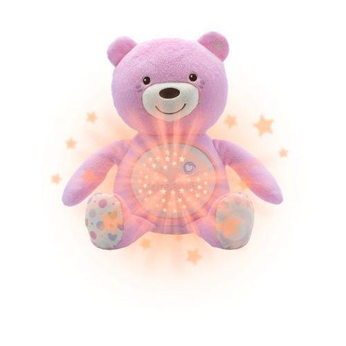 miś z projektorem różowy 0m+ marki Chicco