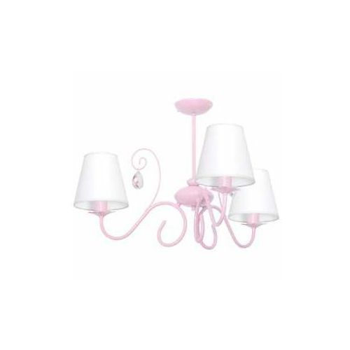 Lampa oprawa wisząca zwis Milagro Sara 3x60W E14 jasny róż 1051, 1051