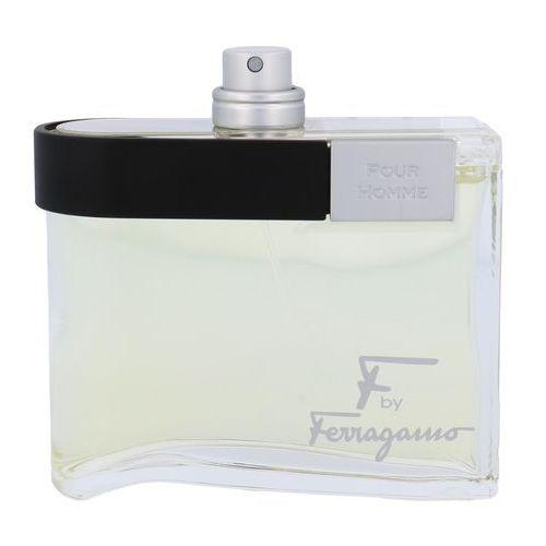 Salvatore ferragamo f by ferragamo pour homme tester 100 ml woda toaletowa