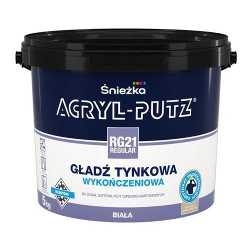 Gotowa gładź tynkowa Acryl Putz RG 21 Regular 5 kg, 1616-05000-000BK