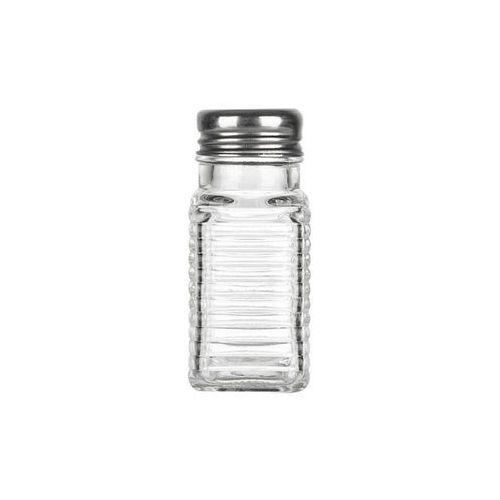 Giardino home przyprawnik szklany z metalowym sitkiem marki Giardino / home-akcesoria kuchenne