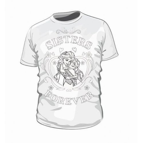 FROZEN 2 koszulka do kolorowania 3-4 lata izimarket.pl (5905279277144)
