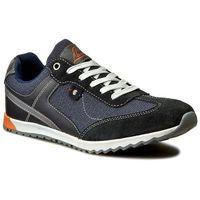 Sneakersy GINO LANETTI - MP40-6066Y Granatowy, w 5 rozmiarach