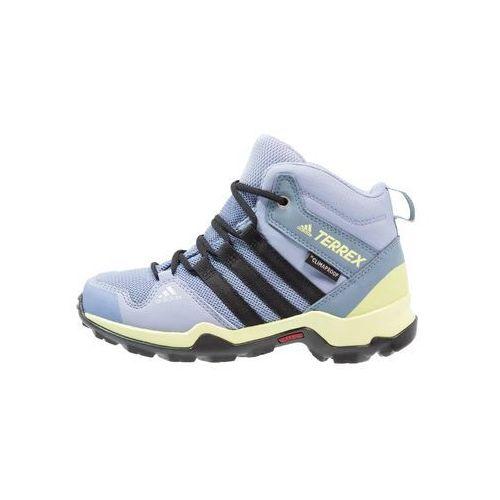 adidas Performance TERREX AX2R MID CP OUTDOORSCHUH KINDER Buty trekkingowe chalk blue/core black/semi frozen yellow, IJP74