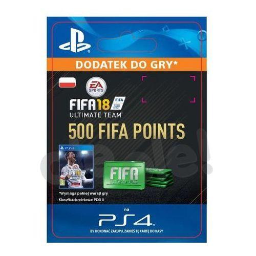 Sony Fifa 18 500 punktów [kod aktywacyjny] (0000006200331)