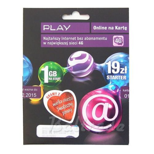 Starter Play Online 19 1GB