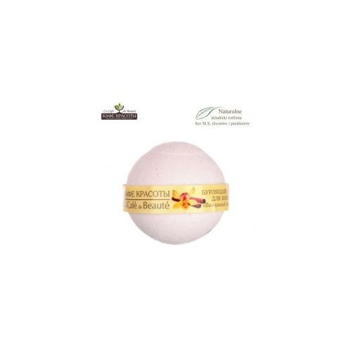 Le Cafe de Beaute Musująca kula do kąpieli - Sorbet waniliowy 120g