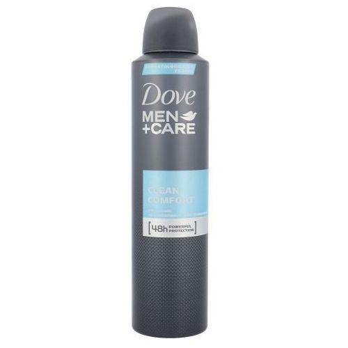 Dove Men + Care Clean Comfort 48h Deospray 250ml M Antyperspirant Bez alkoholu