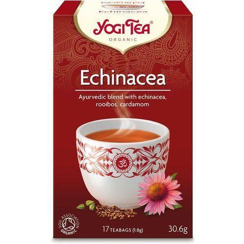 : herbata echinacea bio - 17 szt. marki Yogi tea