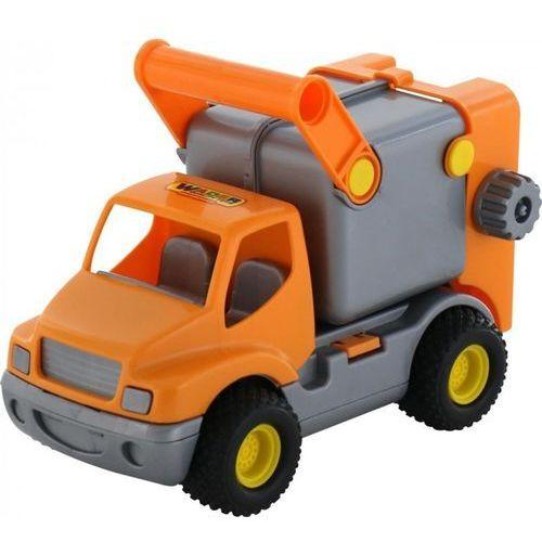 Wader-polesie Construck samochód komunalny pomarańczowy (4810344010414)