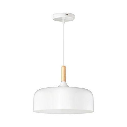 Lampa wisząca zwis Rabalux Gemma 1X40W E27 biały 2564 (5998250325644)