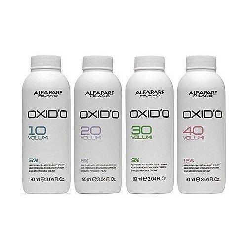 oxido oxydant w kremie 90ml 3%, 6%, 9% lub 12% 6 % - 20 vol. marki Alfaparf