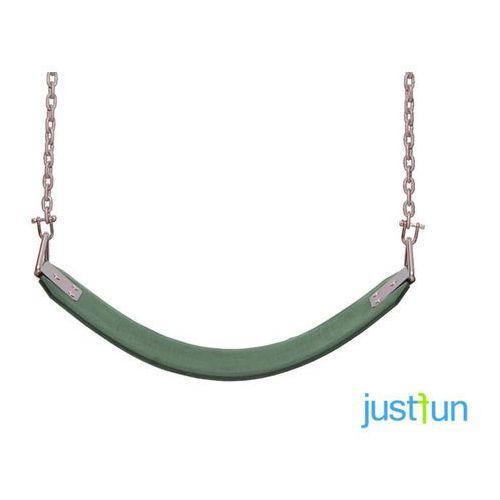 Huśtawka elastyczna na łańcuchu - zielony