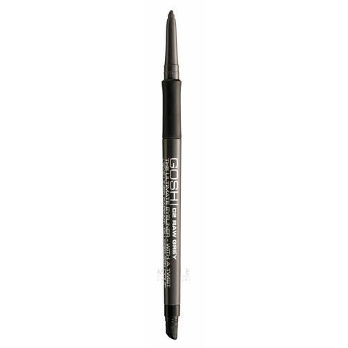 the ultimate eyeliner with a twist automatyczna kredka do oczu 02 raw grey marki Gosh