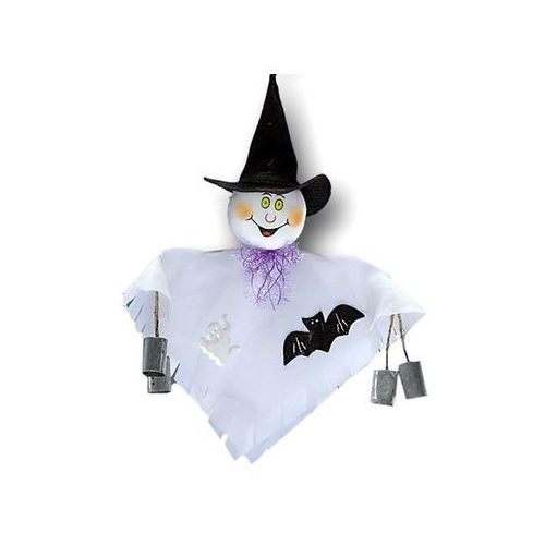 Dekoracja wisząca Duszek na Halloween - 1 szt.